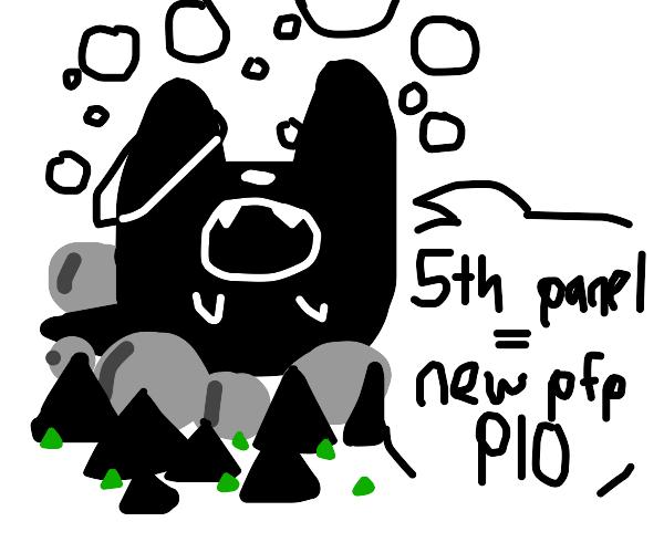 5th panel = New pfp, PIO