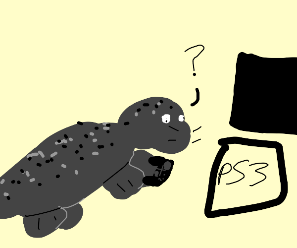 Seal on a PS3, in the wild???