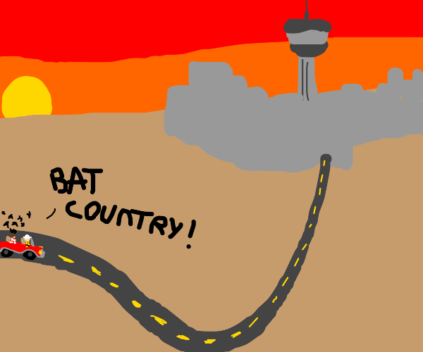 Accurate image of a road trip to Las Vegas