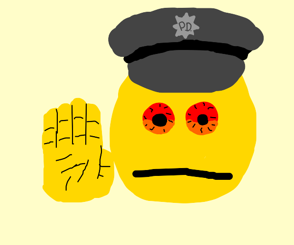 Stop! This is the Police.