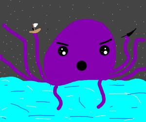 evil octopus