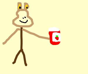 jar jar makes his own jam