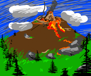 Volcano in a Volcano