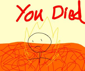 The Floor Is Lava but you failed