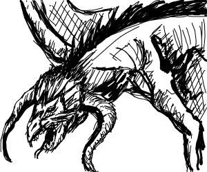dragon sneezes