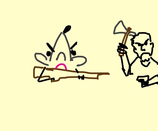 War between mice and men