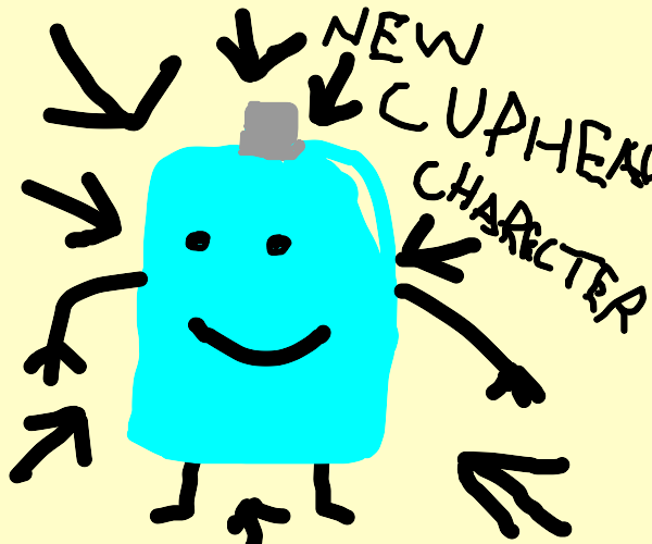 new cuphead character Bottle Man