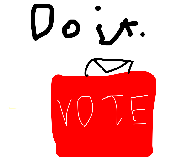 Mail in your ballot! VOTE!