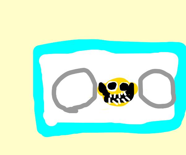 Lemon Demon View-Monster on a cassette tape