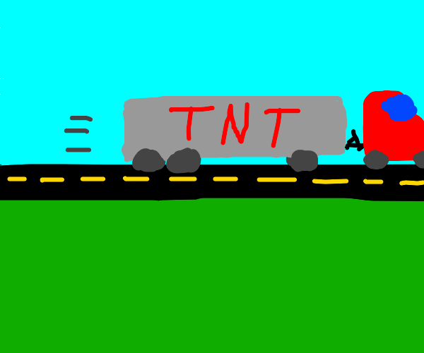 TNT truck