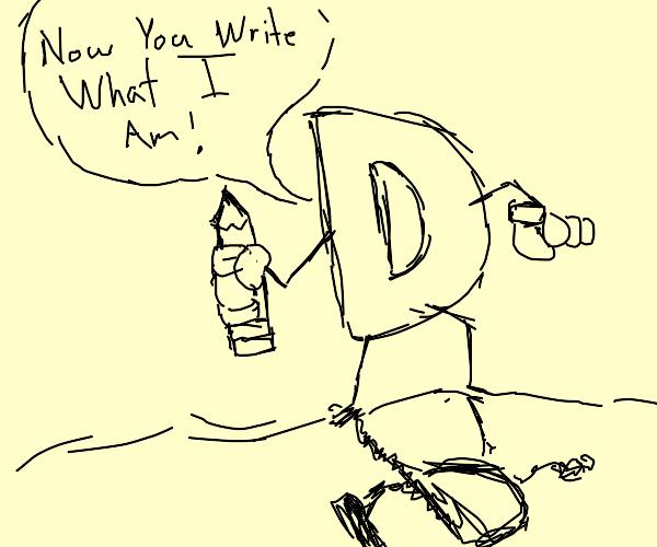 Drawcephon breaks 4th wall