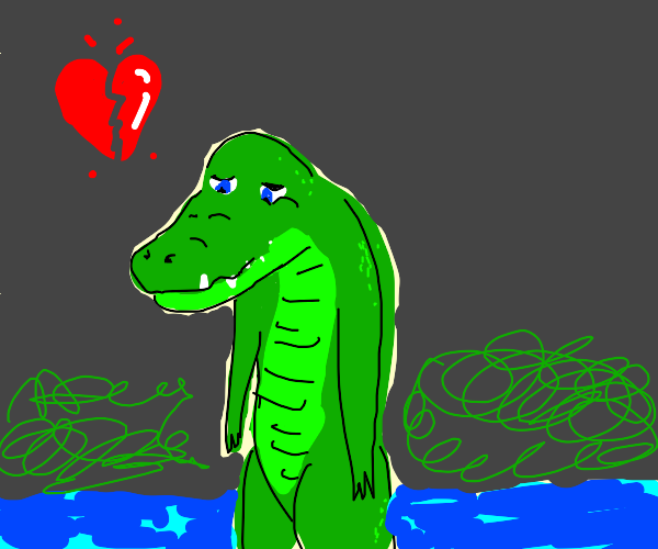sad reptoid