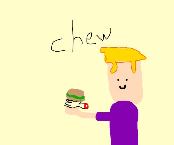 What a beautiful Duwang! chew