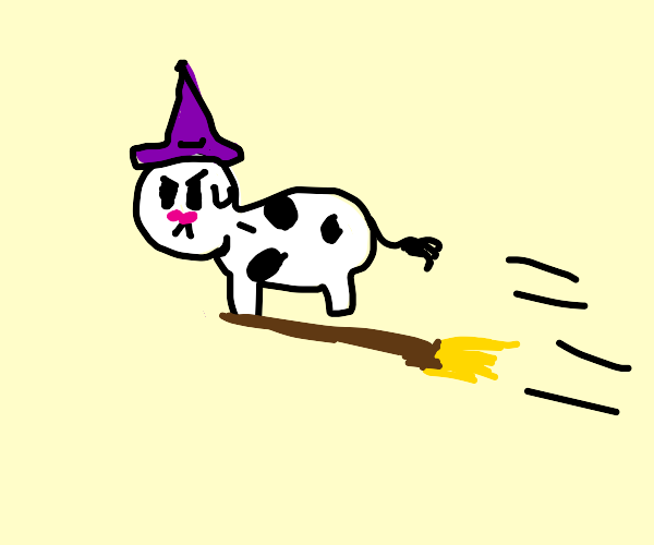 Cow witch