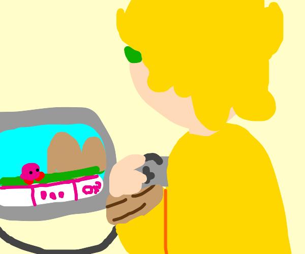 Dio (JJBA) Enjoys Kirby