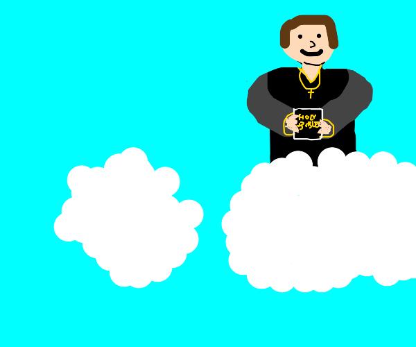 Priest in the Clouds