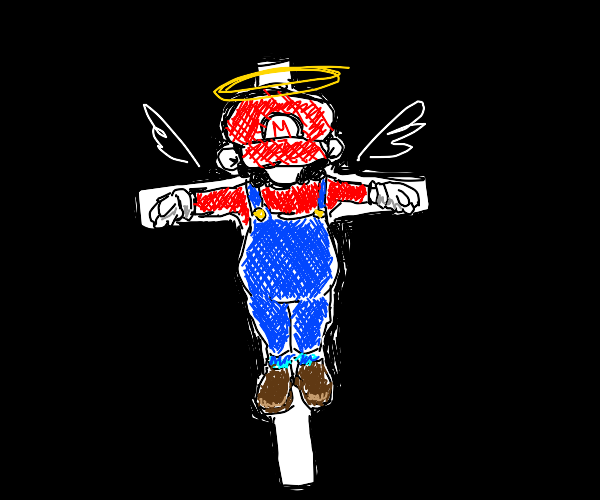 Mario has died for our sins