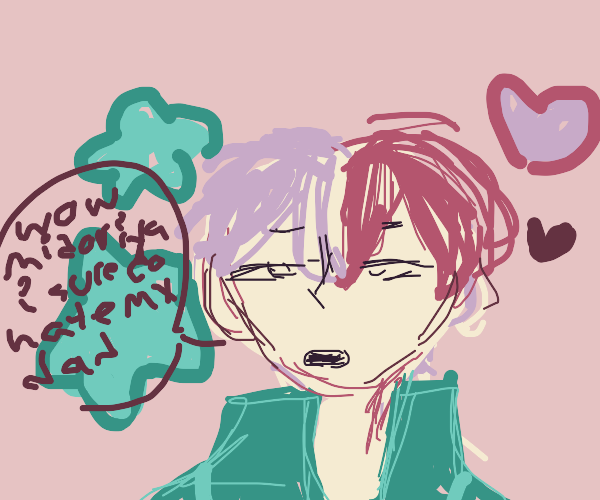 todoroki hates his dad like usual