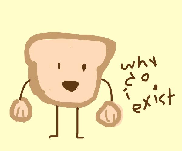 bread questions its purpose