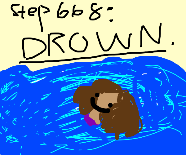 step 667: your tears form a river