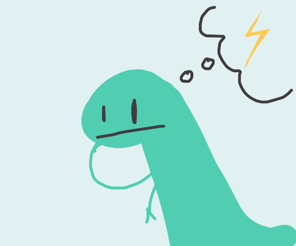 Dinosaur remembers electricity exists