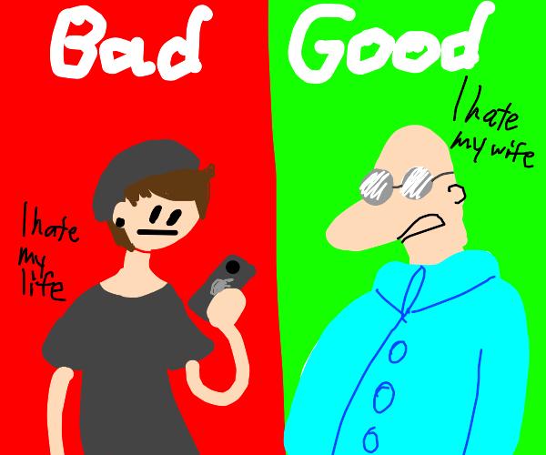 Millenial bad Boomer good