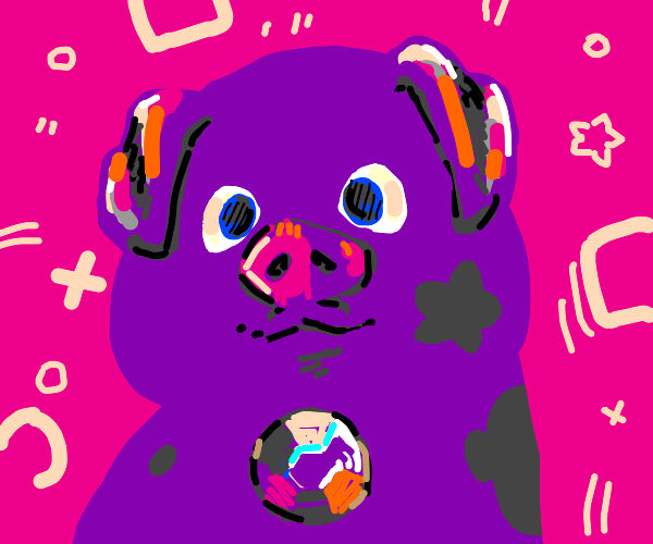 Amethyst turned herself into a pig