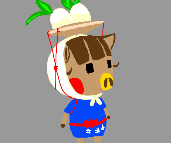 Character from Animal Crossing New Horizons