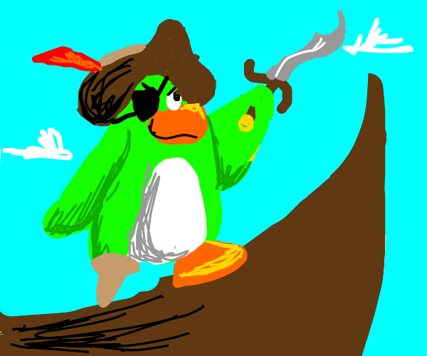 club penguin pirate