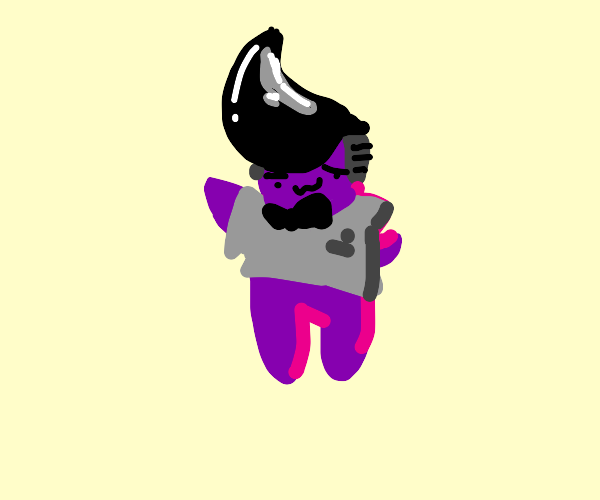stylish purple guy