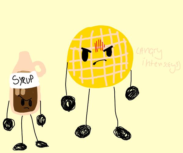 angry waffle grrr