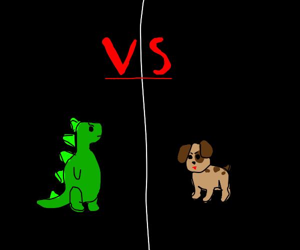 Dinosaur vs Doggy