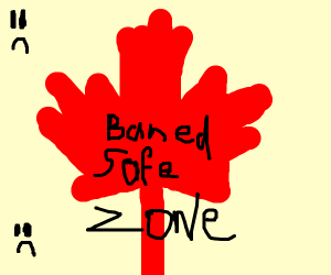 Canada got banned from safe zone