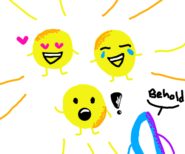 Drawception Emotes as PEOPLE
