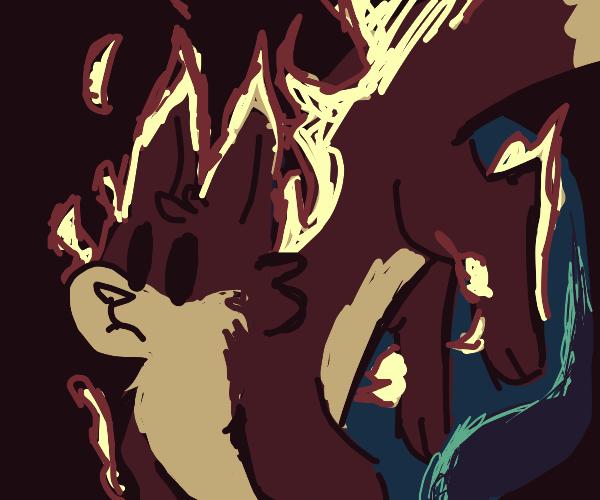Firefox turns creature