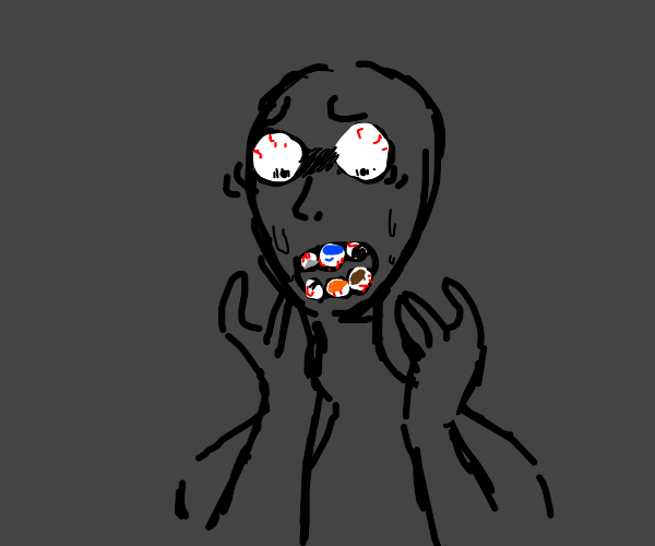 Eyeballs for teeth