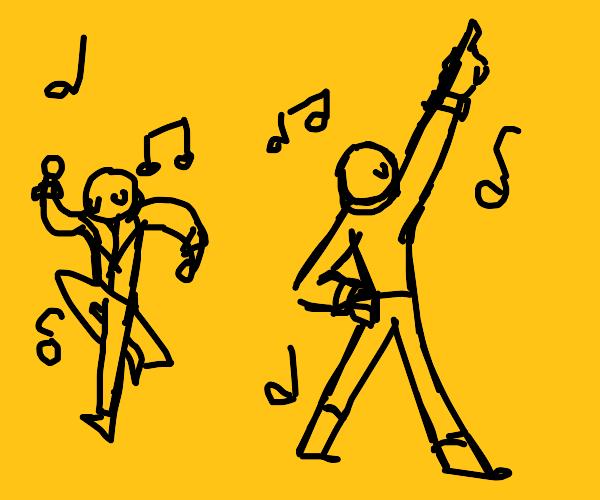 Dancing to the moosic