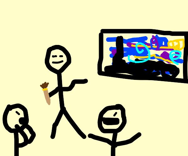 The next stickman Picasso???