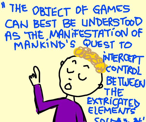 A game theorist nerd