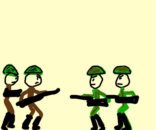 War between two nations