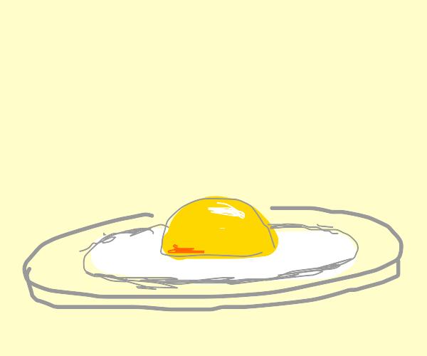 Egg fried Sunny Side up