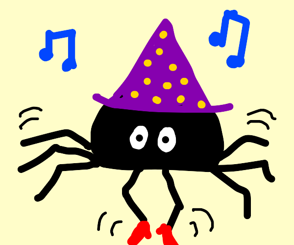Tap Dancing Witch Spider