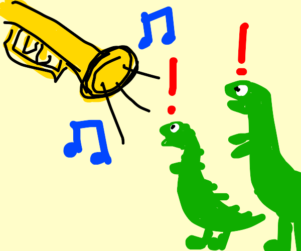 Trumpet ended the dinosaurs