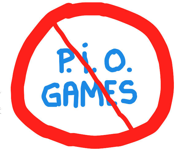 Please stop making PlO games (PlO)