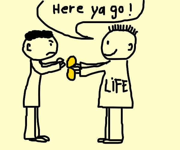 when life give you lemon