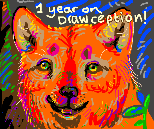 1 year on Drawception