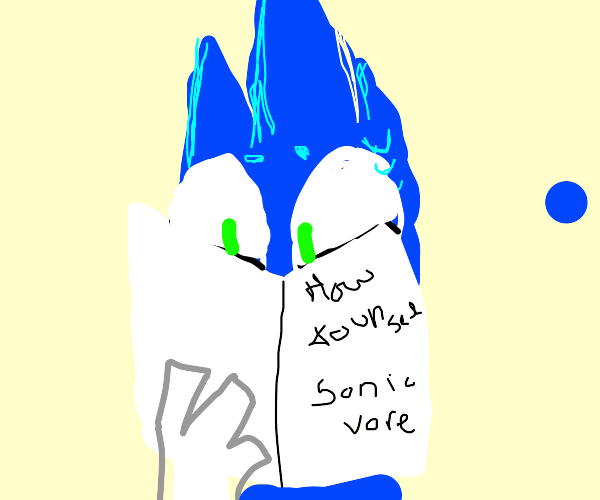 How to unsee sonic vore?