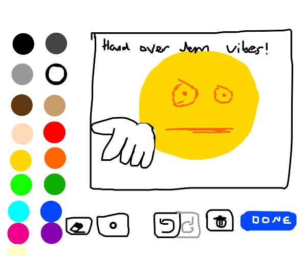 A drawception game.