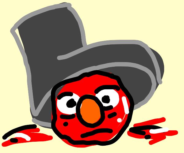 Stomping on Elmo