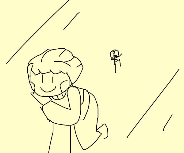 chara running away from henry stickmin